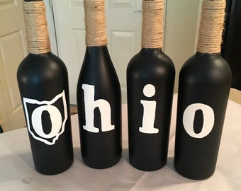 OHIO Wine Bottles