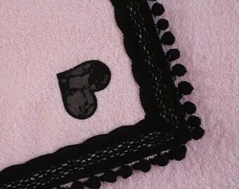 Pink Terry beach towel-model Lipari