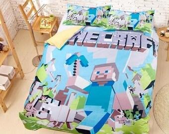 Minecraft Bedding #2 - Duvet Cover Set