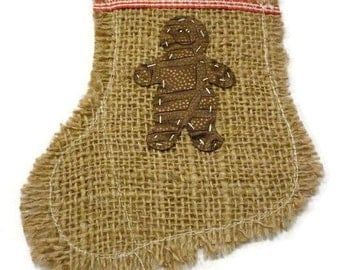 10 Christmas cutlery holders, burlap cutlery holder,  Utensil Pouches, Burlap, hessian,  Pouch, Cutlery Pouch, Flatware Pockets,