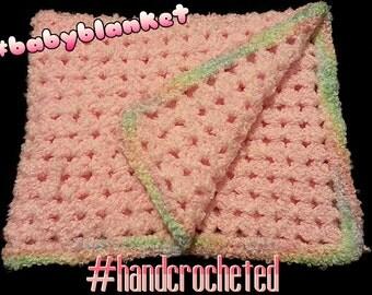 Crocheted Baby Clouds C2C Blanket