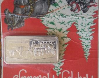 Silver Bar - Happy Holidays - The Christmas Tree Hunt