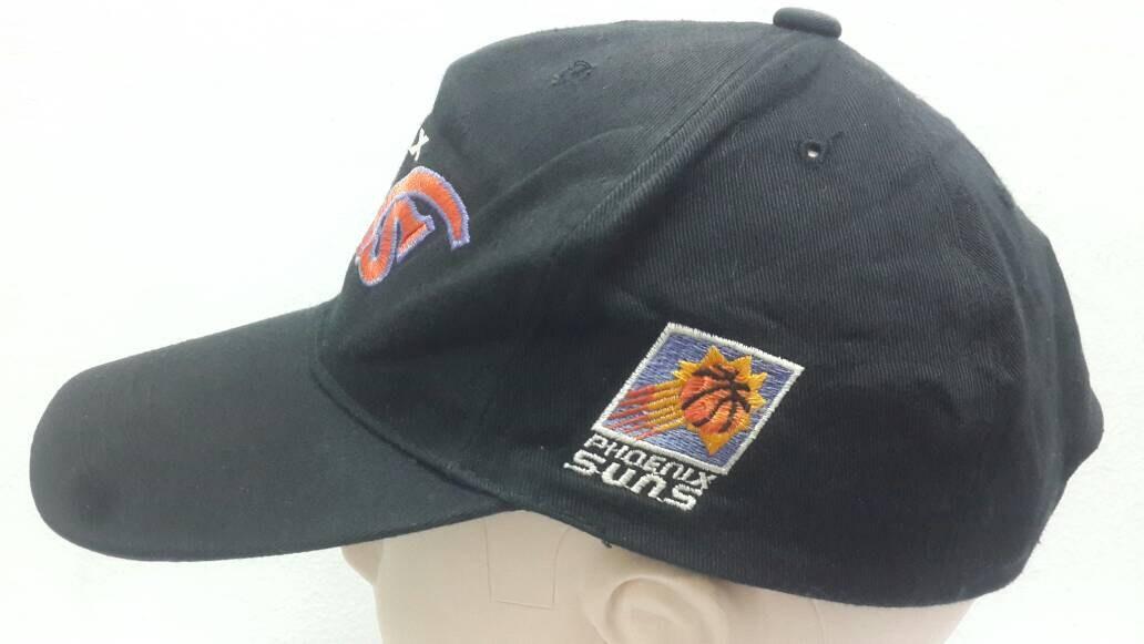 Vintage 80s/90s NBA Phoenix Suns Black Colour Snapback Cap Hat ...