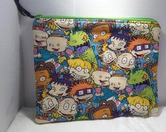 Rugrats pouch, Rugrats clutch, Rugrats bag