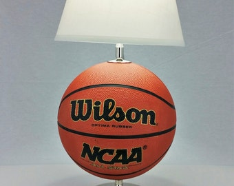 Basketball RecLamp with Lampshade and Ball