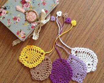 Bookmarks / Crochet Handmade Bookmark
