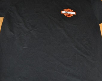 Harley-Davidson Black Men's T-shirt