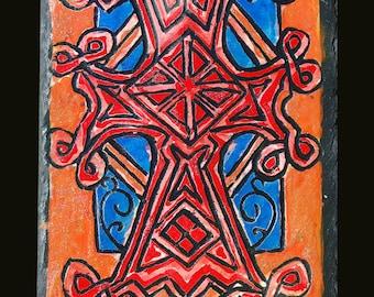 Engraving cross Armenian Elisabeth 6