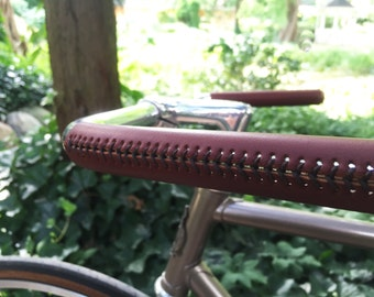 Do It Yourself Leather Bicycle Grip Sewing Kit