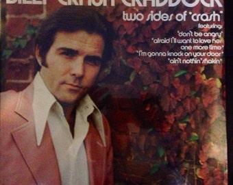 Billy Craddock - Sealed Original Two Sides of Crash Vinyl LP Record