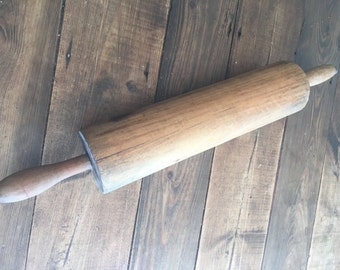 Antique Wooden Rolling Pin