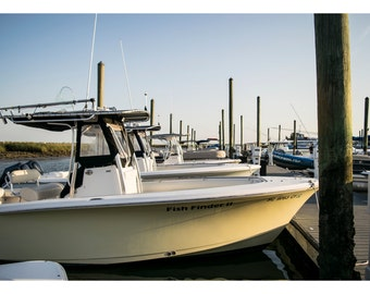 The Boat Dock - Photography Prints and Wall Art