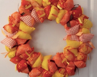 Autumn Pillow Wreath