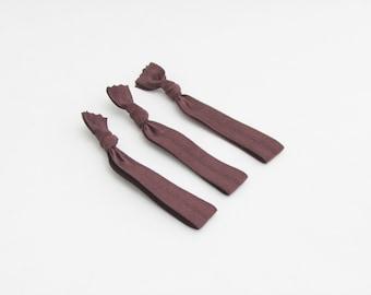Hair Ties For Men - Brown - Hair Ties - Neutrals
