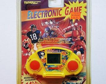 1991 Tiger Electronics Pinball Video Game New Original Packaging