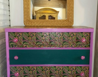 Affectionately Named Liberace Chest Colorful and Fun