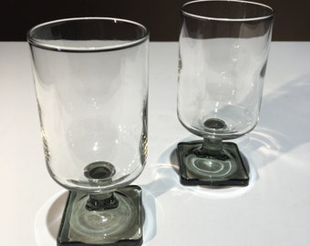 Set of two small glasses