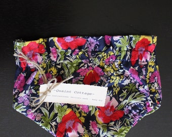 Floral bloomers with matching headband