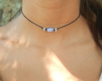 Blue Jewel Choker