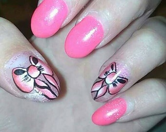 nail art node one stroke