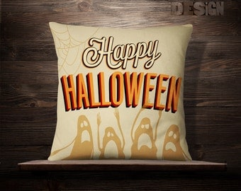 Halloween Decor | Halloween Pillowcase | Halloween Pillow Cover | Halloween Cushion | Halloween Decorations | Halloween Throw Pillow