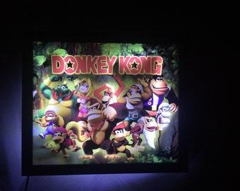 Wall Light Donkey Kong