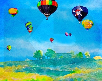Balloons over Wine Country
