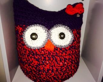 Crochet toy owl