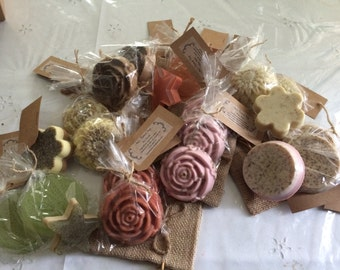 12 assorted 100% Natural Wholesome Soaps