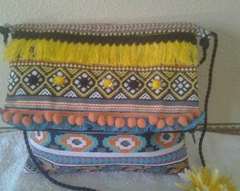Bag shoulder bag ethnic