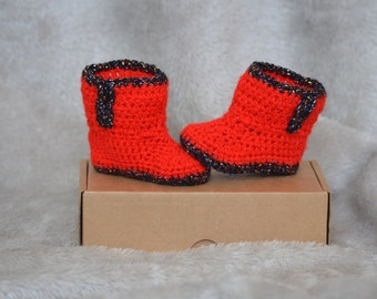Baby Booties, Baby Boots, Crochet Baby Booties, Crochet Boots, Baby Girl, Baby Boy