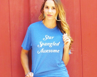 Star Spangled Awesome Tee