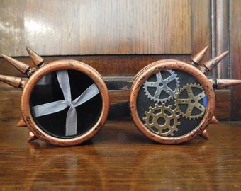 Unique Steampunk Goggles - Lace and Cogs