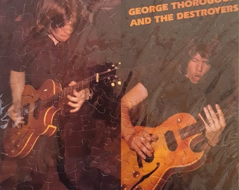 George Thorogood and The Destroyers Album Cover Puzzle