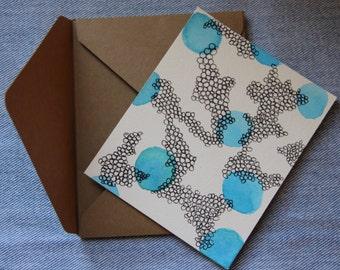 Bubble Pattern Card