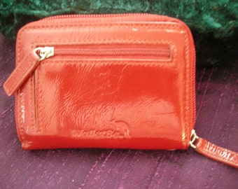 WALLETBE ACCORDIAN WALLET Red