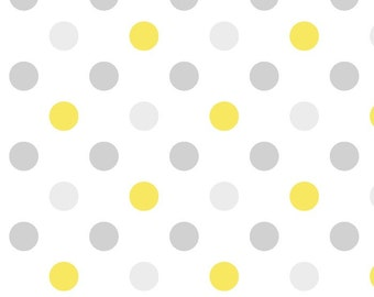 Dots Flannel Fabric by the yard/yellow/boys/grey/fabric/airplane fabric/david textiles/baby fabric/choose your cut/Your Fleece