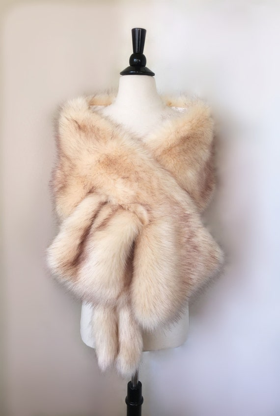 Champagne Stole