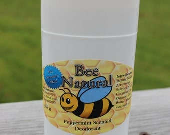 Peppermint Natural Deodorant