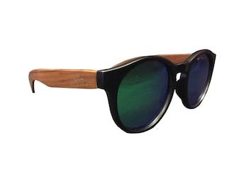 BAMBOO Sunglasses Guelo monsoon (GM)-Pucksuck, raccoon, raccoon, crossfit, glasses of Sun