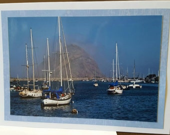 Morro Rock and Boats