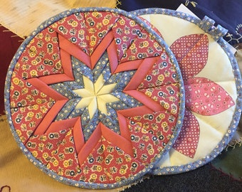 Quilted Insulated Potholder, set of 2