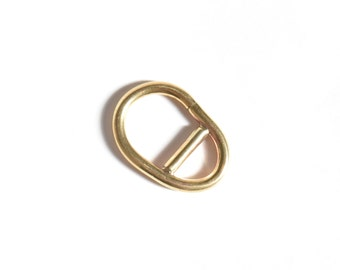 Extension ring, oval brass handmade ring, modern statement piece, gift for her, geometric ring, boho ring, irregular ring, unique