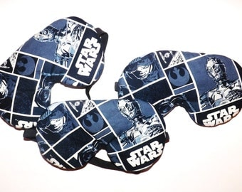 Clearance - Set of 3 Star Wars Sleep Mask - C3PO - Comes as Shown
