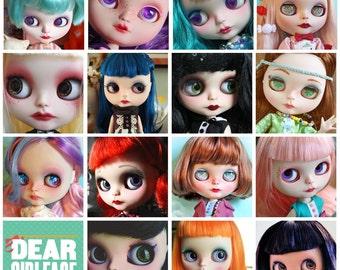 OOAK Custom Blythe Art Doll Commission Spot by Dear Girlface Dolls