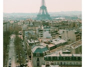 Paris Photography - Eiffel Tower Photograph - Paris in the Springtime-  Original Fine Art Photograph - Pink - Landscape Photo - Paris Art
