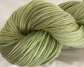 WHITE SAGE -superwash sock yarn