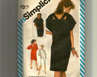 Simplicity Misses' Chemise Dress Pattern 6215