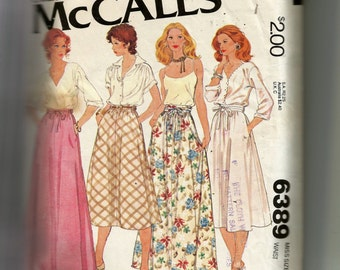 McCall's Misses' Set of Skirts Pattern 6389