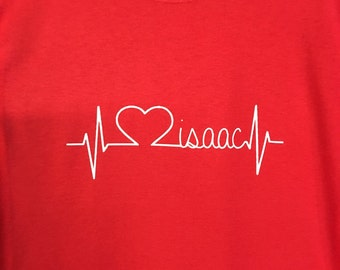 Personalized Heartbeat Shirt